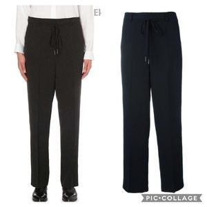 Helmut Lang Pinstripe High Waist Drop Crotch DO